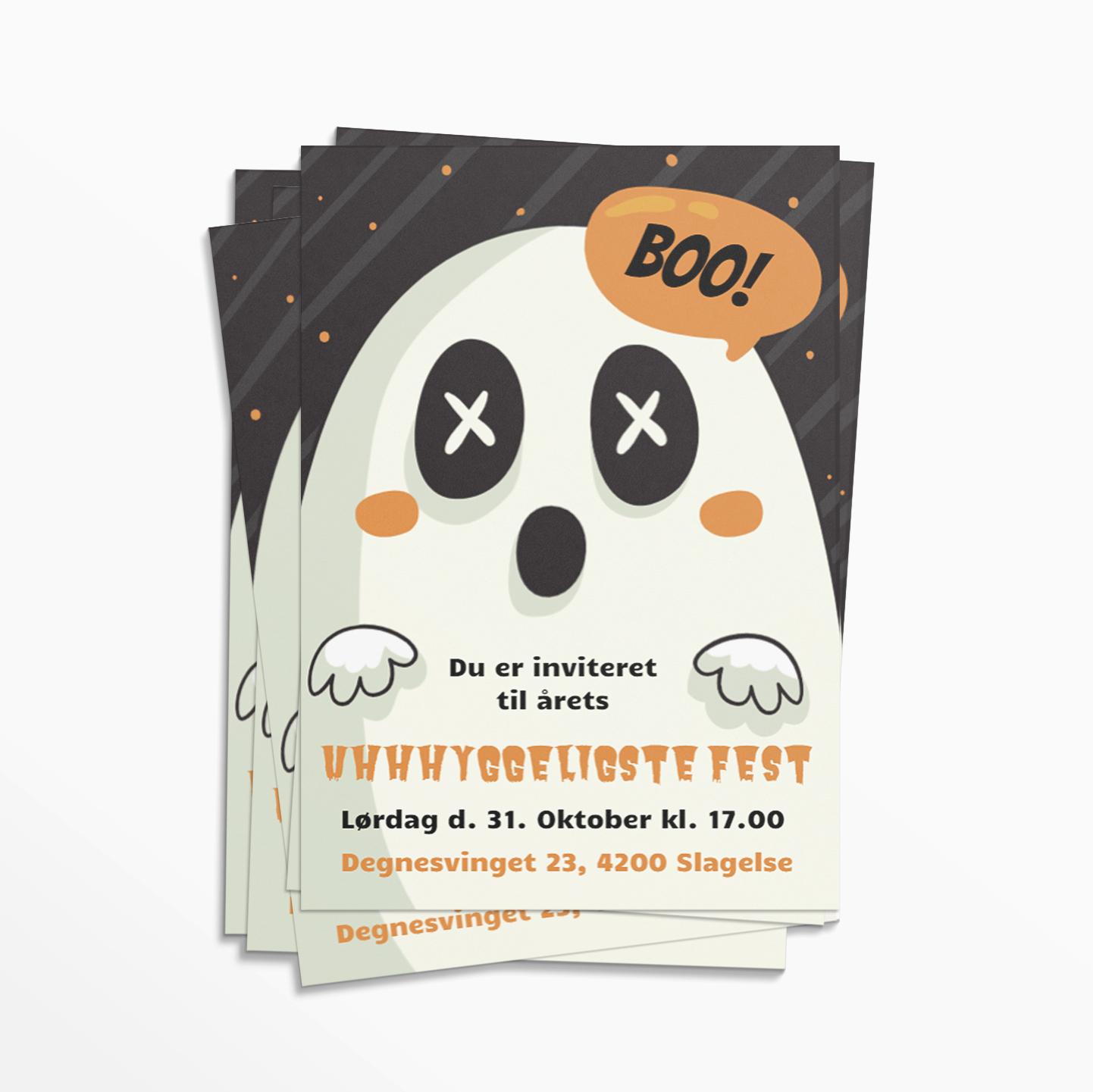Halloween festinvitation