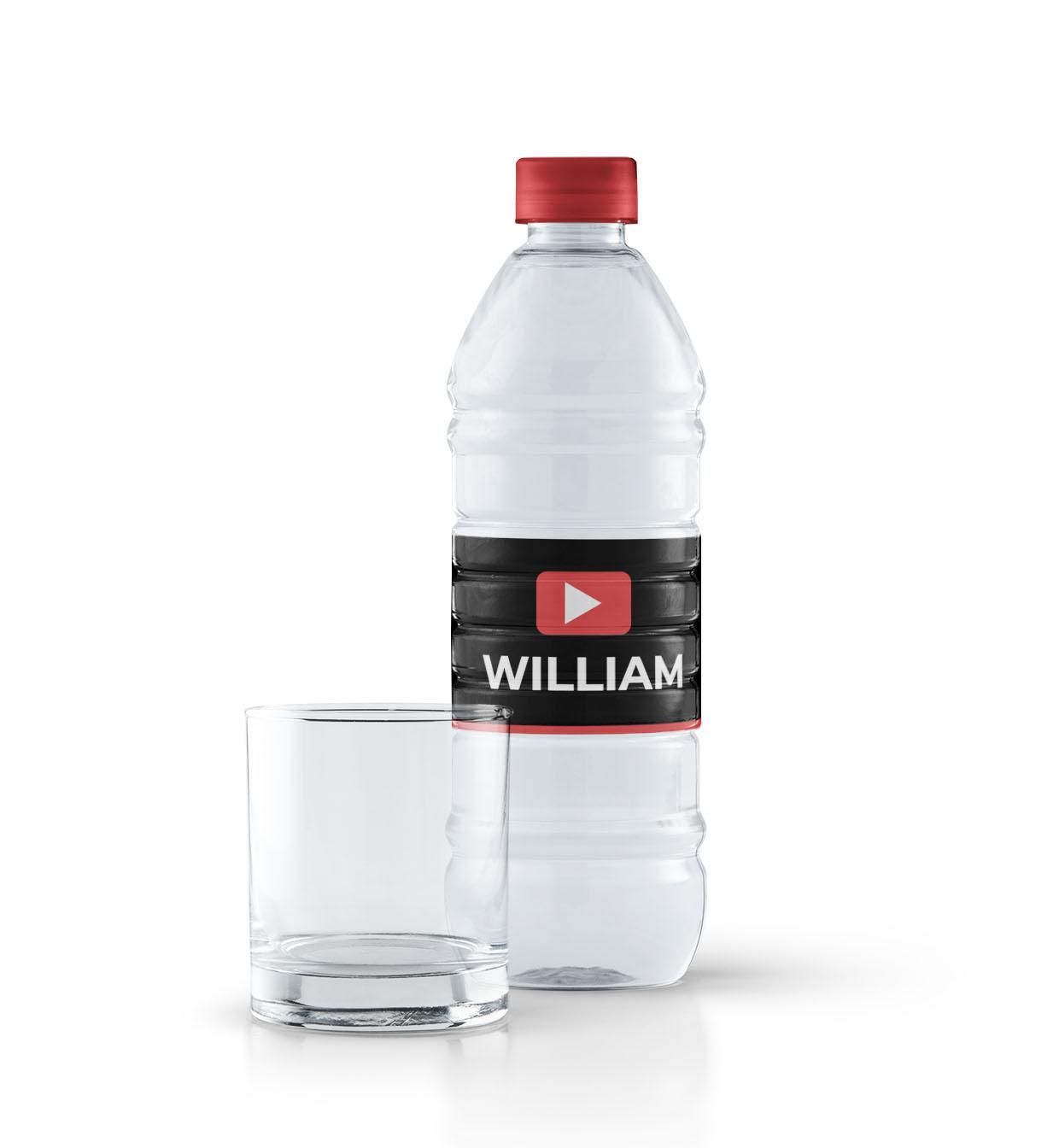 Youtube flaskeetiketter