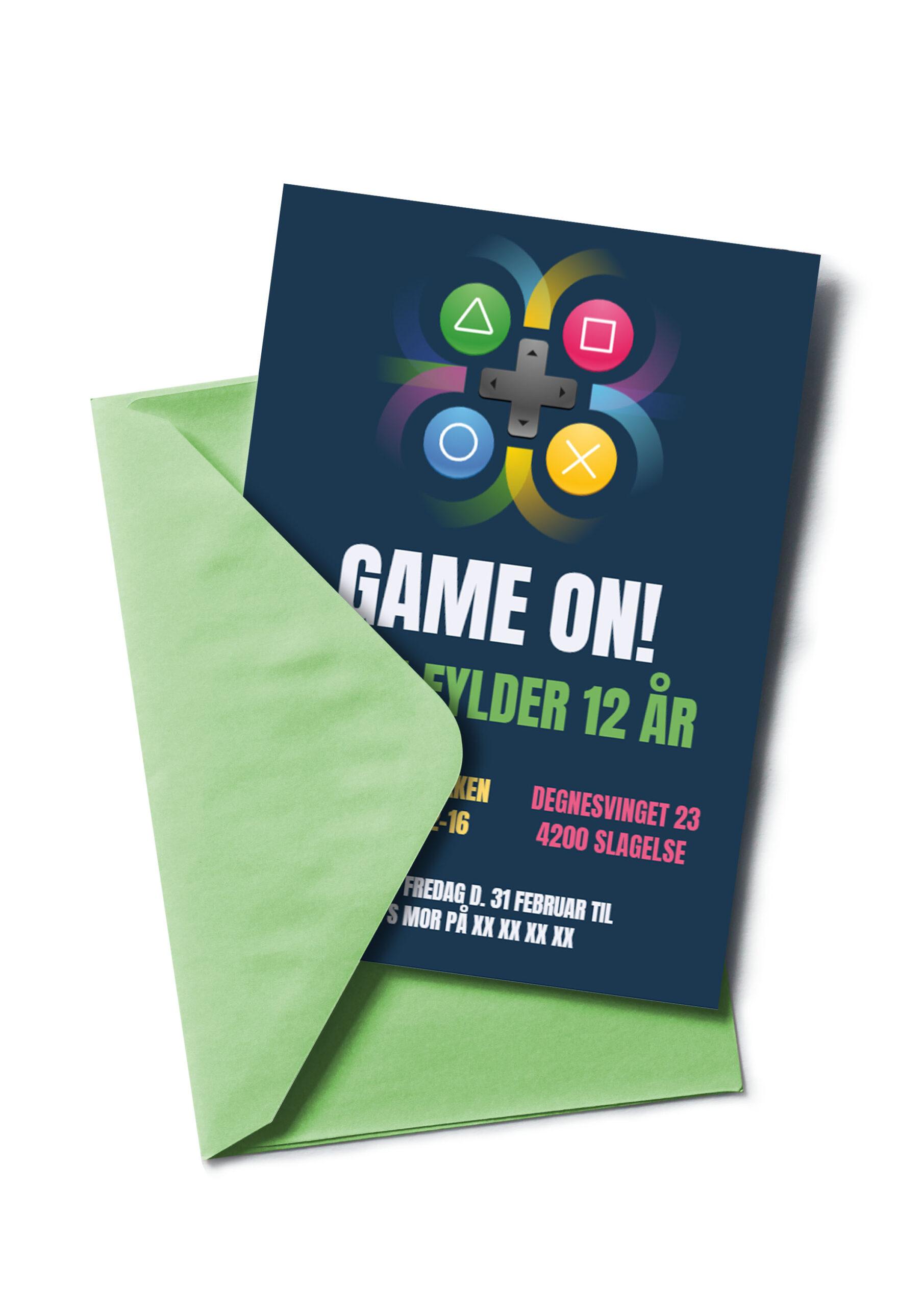 Gamer invitation